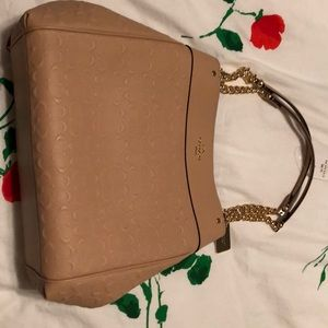 Coach leather beechwood tote